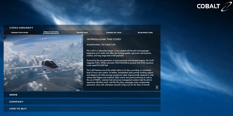 Cobalt Homepage