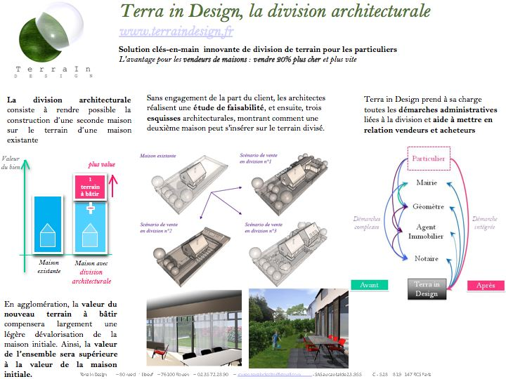 "Terra in Design  | <a href=""http://www.terraindesign.fr"">Site web </a>"